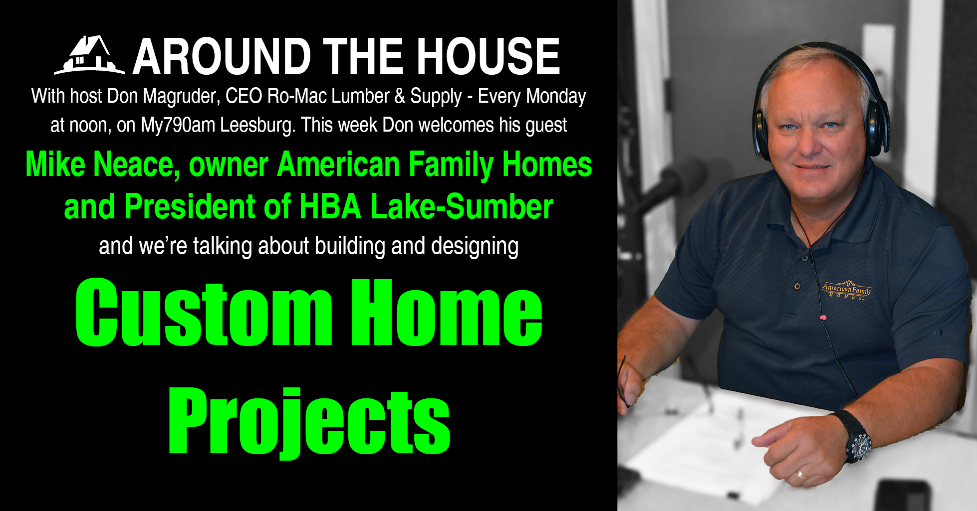 Romac Building Supply Around The House Custom Home