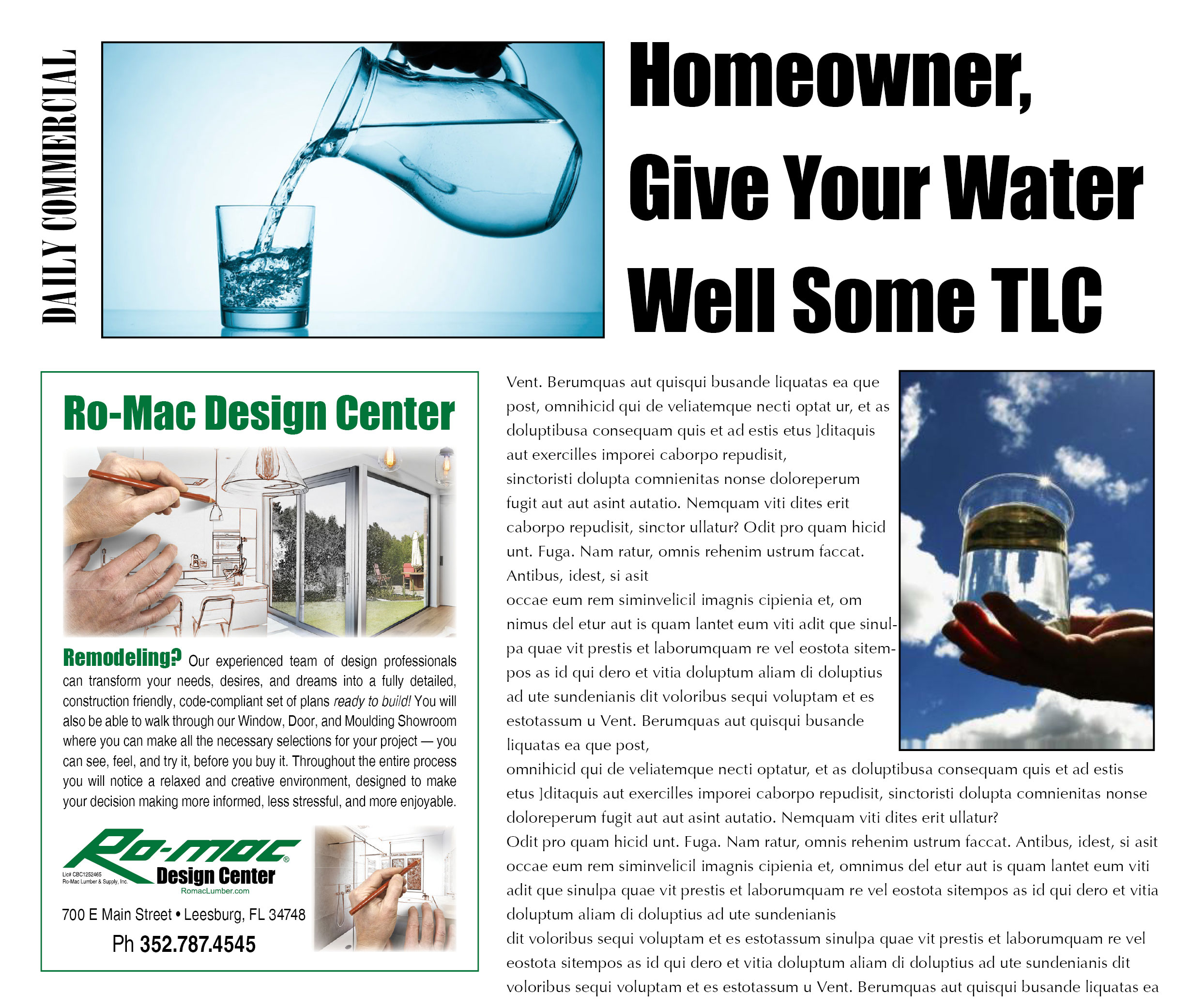 Romac Building Supply Around The House Water Well Tlc